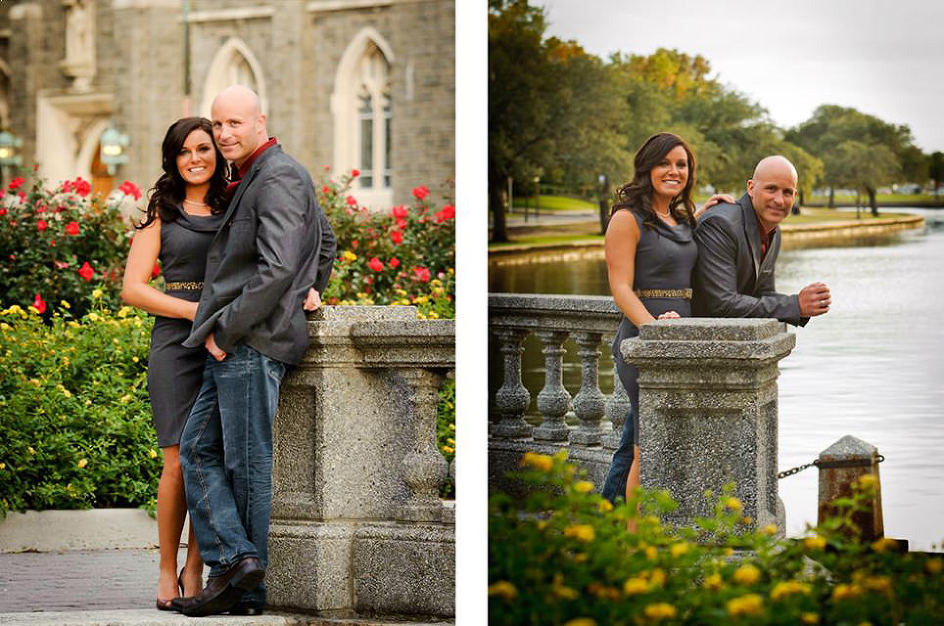 McKinney Wedding Photographer Engagement Portrait